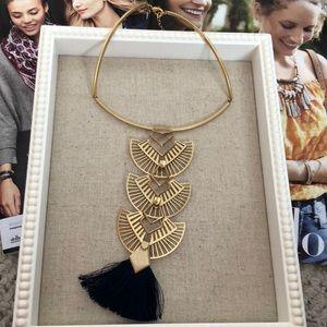 Stella & Dot Aida Tassel Pendant Necklace (6 in 1)